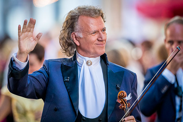 Andre Rieu concert screening for Cancer Research UK